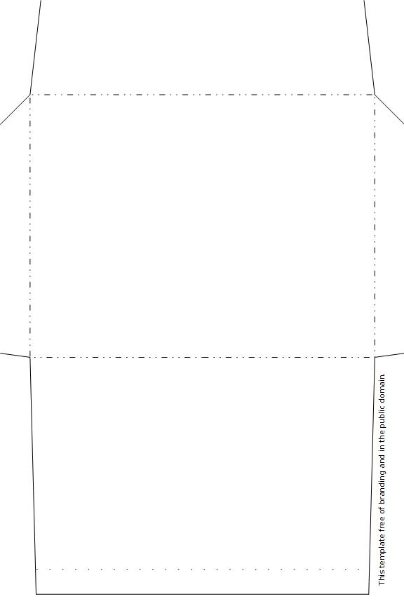 legal size envelope template - free 4 3 8 x 5 3 4 envelope template provincial archives